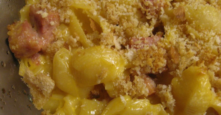 Country Mac And Cheese Casserole With A Ham Twist - Recipe Roost
