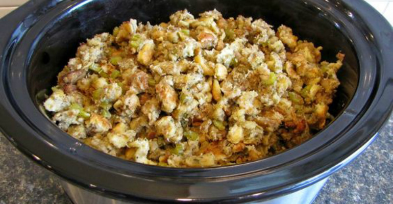Some things should be cooked nice and slow crock pot for Crock pot thanksgiving dessert recipes