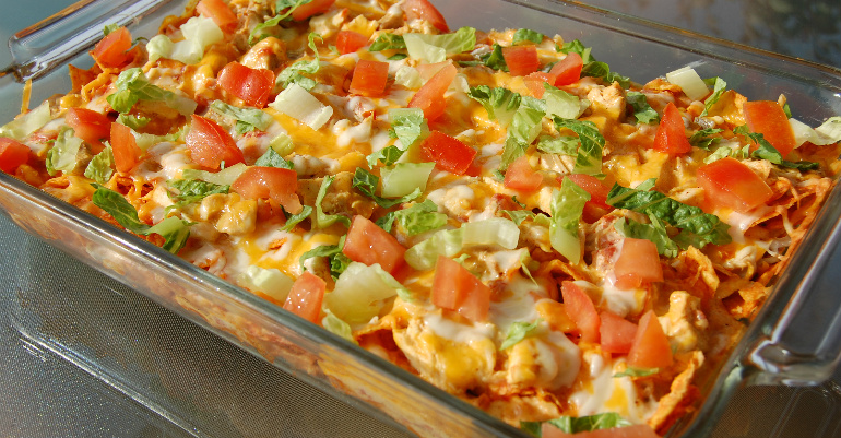 Chicken Dorito Casserole Recipe Taco Bake