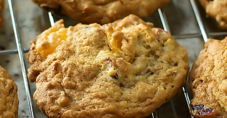 Everything But The Kitchen Sink Cookies garbage cookies - a recipe that contains everything but the