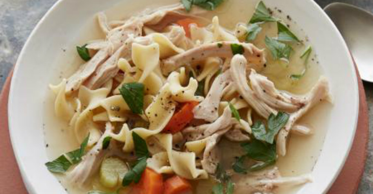 Soothe your hungry soul with mamas chicken noodle soup recipe roost forumfinder Images