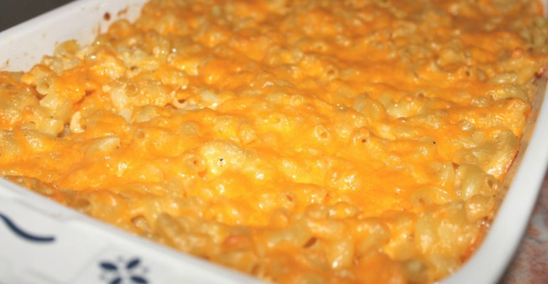Cheddar Soup Macaroni N Cheese Bake Recipe Roost