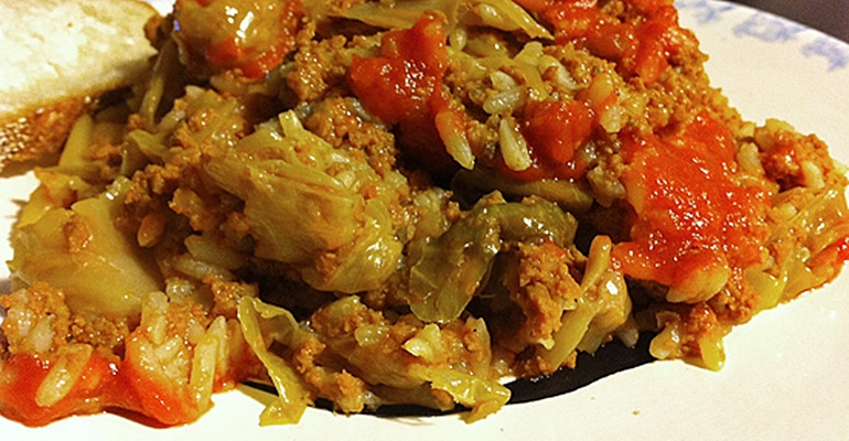 Happy Hubby Cabbage Casserole The Meal No One Can Resist